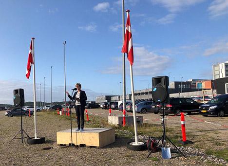 Første spadestik til fjernkøling på Nyt Aalborg Universitetshospital