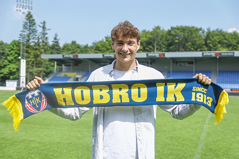 Alexander Molberg stopper i Hobro IK