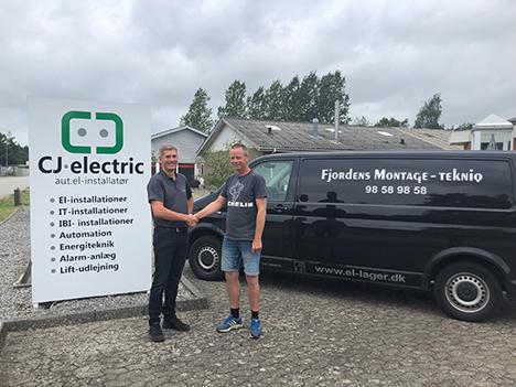 CJ Electric har dags dato overtaget Fjordens Montage Tekniq