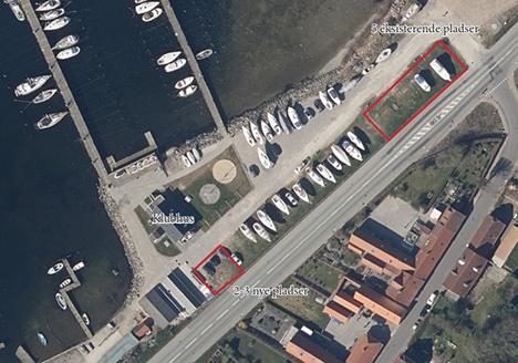 Sejlklub ønsker flere pladser til Autocampere i Mariager Fjord