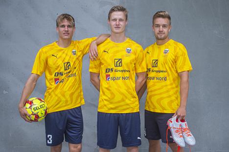 Hobro IK spiller i særlig jubilæumstrøje mod Brøndby IF