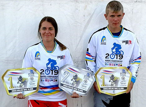 DRAGON BMX til Nordiske Mesterskaber
