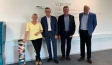 Borgmesteren og kommunaldirektøren fra Randers besøger Mariagerfjord