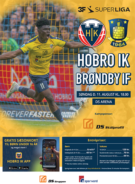 Hobro tager imod Brøndby