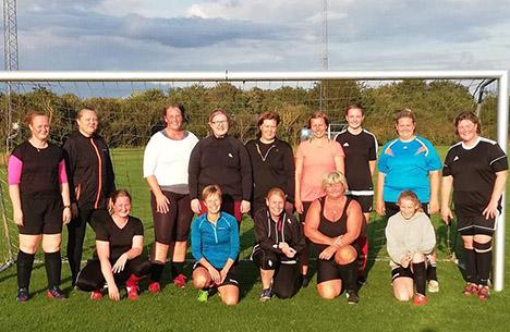 Drømmestart for motionsfodbold for kvinder