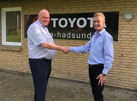 Toyota Hadsund og Vive IF fortsætter samarbejdet