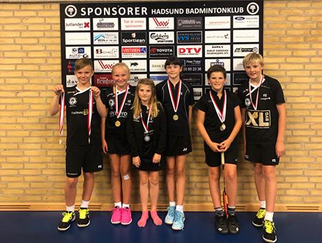 Flotte badminton resultater af unge og lidt ældre HBKére