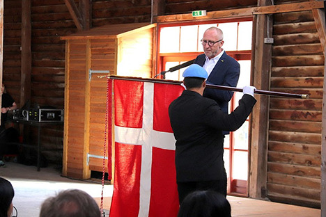 National Flagdag 2019 fejret i Hobro