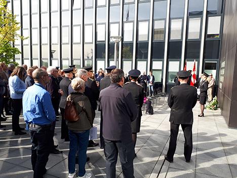 Politiets mindedag: Faldne kolleger huskes fortsat efter 75 år