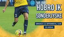 Hobro tager imod SønderjyskE