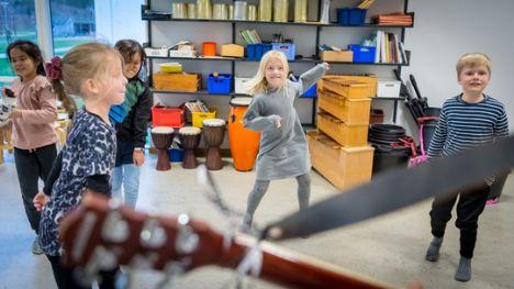 Mariagerfjord Kulturskole har skudt skoleåret i gang med musik og kreative fag