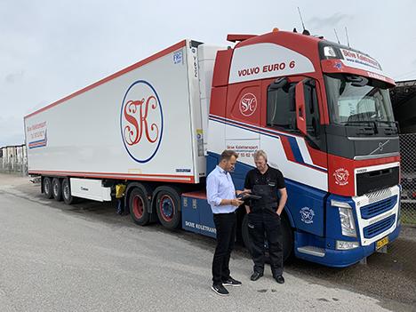 Lokal transportvirksomhed investerer i anskaffelse af 112 nye lastvogne og køle-frysetrailer