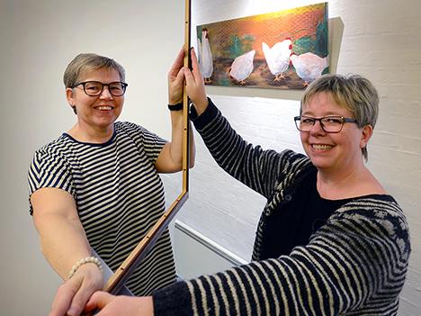 Valsgaard-kvinder udstiller i Hobro