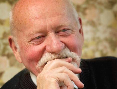 Hugo Mortensen i dagens tirsdagscafe