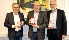 Tre byrådsmedlemmer i Rebild modtager ridderkorset