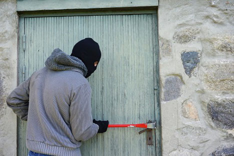 Der er stjålet en del værktøj og svejseudstyr fra stedet