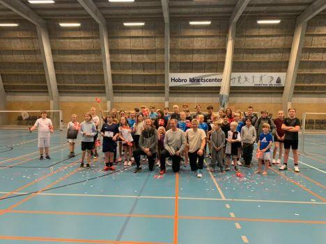 10 års jubilæum hos Hobro Badmintonklub