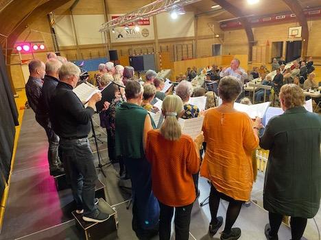 Aflyst: Syng Dansk i Als Hallen´ - med byens to kor