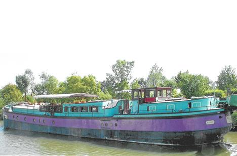 Fragtskib fra 1906 til mindre arrangementer med musik og spisning vil tage plads på Hobro Havn