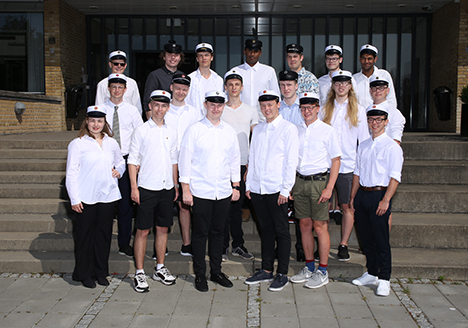 Dimittender Mariagerfjord Gymnasium 2020  HTX 3u