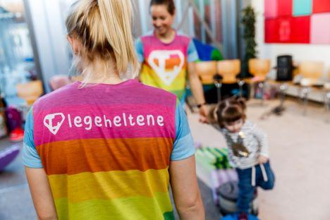 Nu får børnene på Regionshospital Nordjylland deres helt egen helt