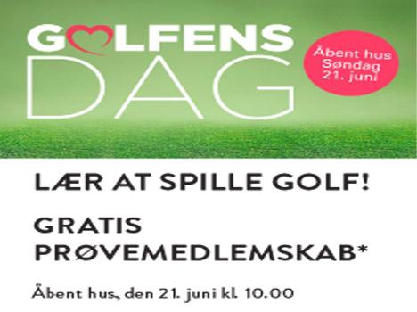 Golfens dag hos Mariagerfjord Golfklub