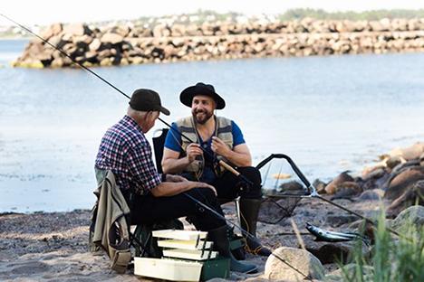 Propfyldte moler: Coronakrisen har givet et boom i lystfiskeriet