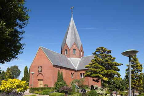 Bisættelsen finder sted fra Hadsund Kirke, torsdag den. 16. juli