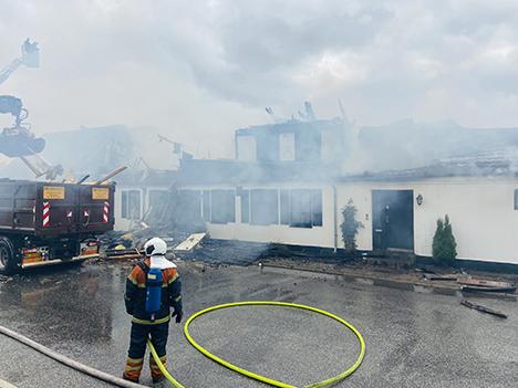Fårup Kro kunne ikke reddes fra branden