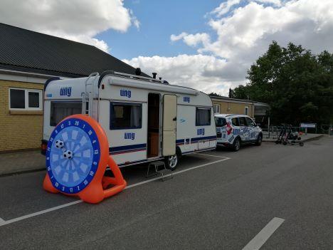 Sommerturné med UngCampingvognen