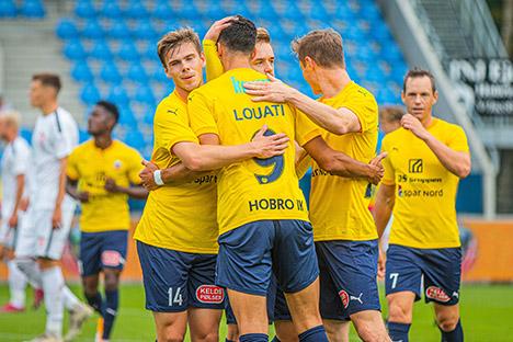 Hobro IK fik sæsonens første sejr i 1.Division