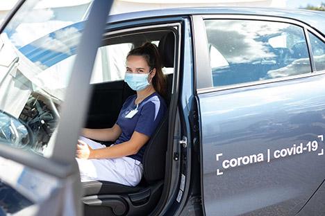 Flere testbiler og personale køres til Nordjylland fra andre regioner