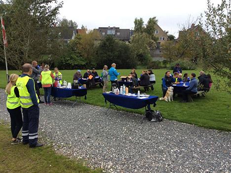 30 af byens borgere deltog i affaldsindsamling i Valsgård