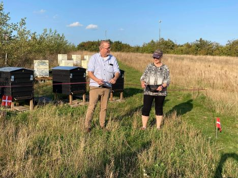 Indvielse af bier i byskoven
