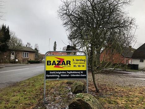 Bazar Skelund har planlagt genåbningen