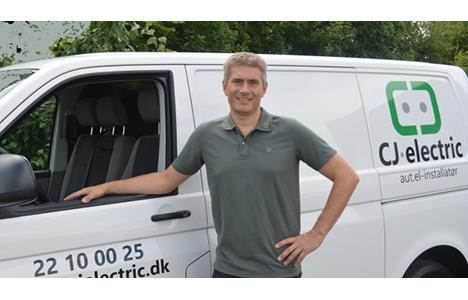 CJ Electric søger Elektriker
