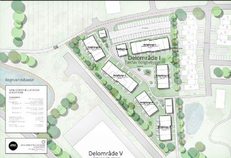 Nyt Alment boligprojekt på Kirketerp, Hobro