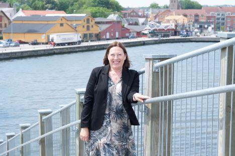 Annitta Kjær Hedegaard er ny erhvervskundechef i Andelskassen i Hobro