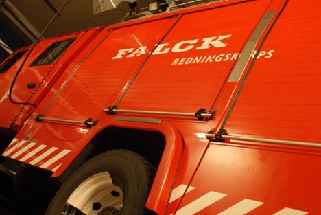 Brand i Mariager muligvis påsat