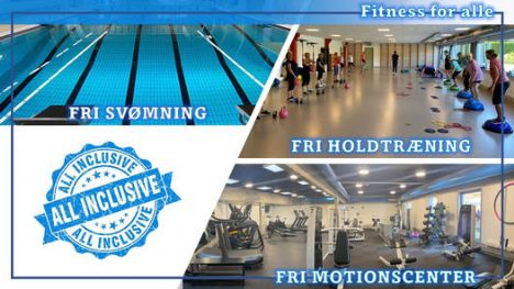 ALL INCLUSIVE medlemskab i Hobro idrætscenter