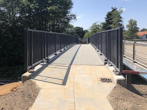 Ny bro står færdig i Arden