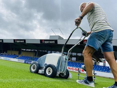 Jens Serup melder, at banen står skarpt og klar til den nye sæson