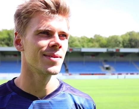 Mikkel M.P. forud for kampen i morgen