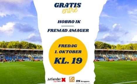 Har du fået hentet din gratis billet til Hobro IKs næste hjemmekamp?