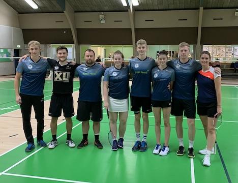 Serie 1 sejr i første holdkamp til Hadsund Badminton Klub